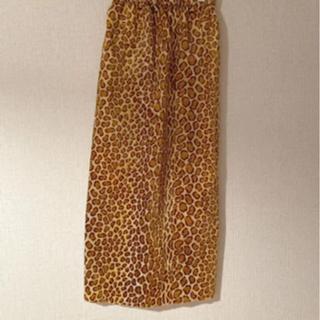 ロキエ(Lochie)のhooked vintage レオパード マキシスカート jantiques(ロングスカート)