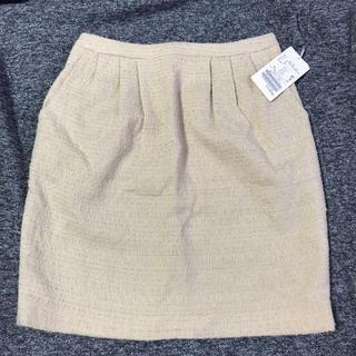 ラトータリテ(La TOTALITE)の新品 タグ付 ラトータリテ ツイード スカート(ひざ丈スカート)