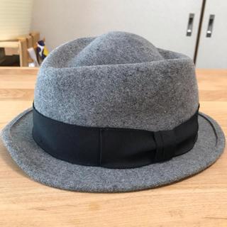 トゥモローランド(TOMORROWLAND)のTOMORROWLANDウールハット☆トゥモローランド帽子(ハット)