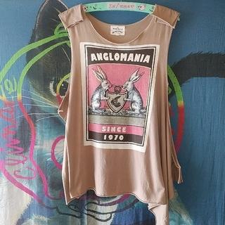 ヴィヴィアンウエストウッド(Vivienne Westwood)の💝Vivienne Westwood アングロマニア(Tシャツ(半袖/袖なし))