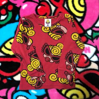 ヒステリックミニ(HYSTERIC MINI)のフェイスロンティー❤(Tシャツ)