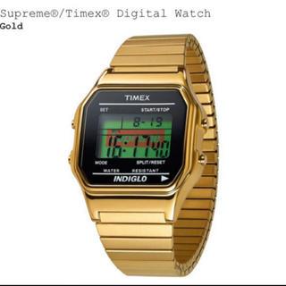 Supreme®/Timex® Digital Watch  : Gold