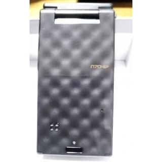 エヌイーシー(NEC)のdocomo NEC N704iμ 黒 本体 中古品/充電器付き 値下げ(携帯電話本体)