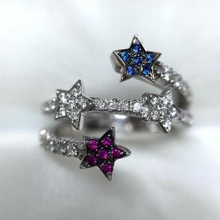 STAR JEWELRY - star jewelry ダイヤモンド スター デザイン リング