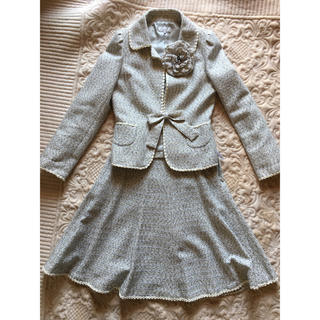 トゥービーシック(TO BE CHIC)のTO BE CHIC春ツィードスーツ(スーツ)