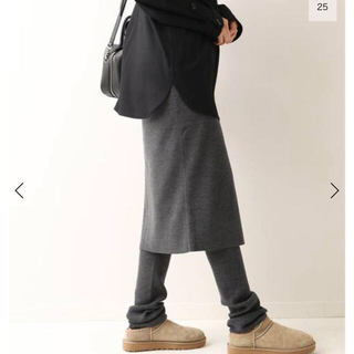 フレームワーク(FRAMeWORK)のフレームワーク レギンス付きスカート(ひざ丈スカート)