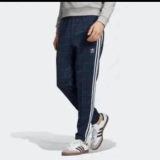 アディダス(adidas)の新品★アディダス トラックパンツ チェック L(ジャージ)