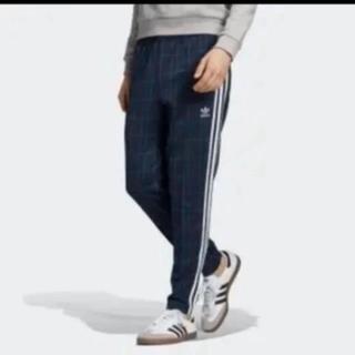 アディダス(adidas)の新品★アディダス トラックパンツ チェック S(ジャージ)
