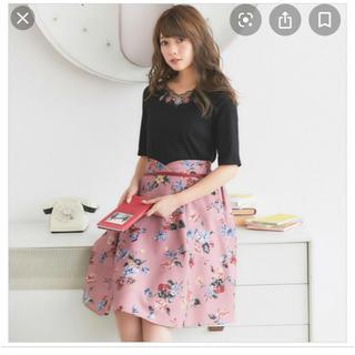 tocco - トッコ 花柄スカート