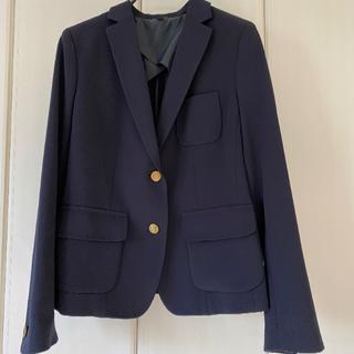 ユニクロ(UNIQLO)のユニクロLストレッチ紺ブレザージャケット(テーラードジャケット)