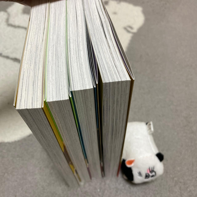 SQUARE ENIX(スクウェアエニックス)のおじさまと猫1〜4とふくまるマスコット エンタメ/ホビーの漫画(少年漫画)の商品写真