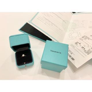 ティファニー(Tiffany & Co.)の本物 ティファニー Tiffany & Co. ソリティア ダイアモンド リング(リング(指輪))