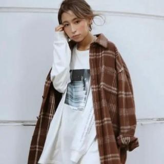アングリッド(Ungrid)のシャギーチェックルーズシャツ ☆未使用☆(その他)