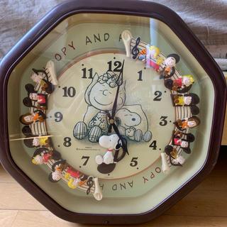スヌーピー(SNOOPY)のスヌーピー時計(掛時計/柱時計)