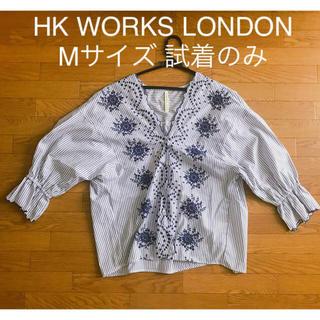 シマムラ(しまむら)のしまむら トップス 刺繍 ストライプ  HK WORKS LONDON(シャツ/ブラウス(長袖/七分))