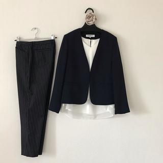 ナチュラルビューティーベーシック(NATURAL BEAUTY BASIC)のパンツスーツ 3点SET (スーツ)