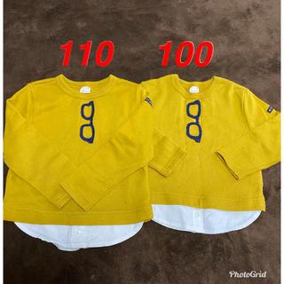 プティマイン(petit main)のpetit main お揃い 100.110(Tシャツ/カットソー)