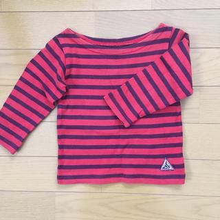 マーキーズ(MARKEY'S)のマーキーズ ボートネック ボーダーロングTシャツ 80(Tシャツ)
