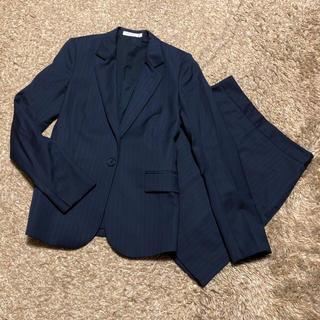 セオリー(theory)の値下げ交渉OK セオリー シングル スカートスーツ Sサイズ ストライプ柄(スーツ)