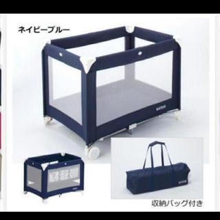 カトージ(KATOJI)のkatoji☆折りたたみベビーベッド(ベビーベッド)