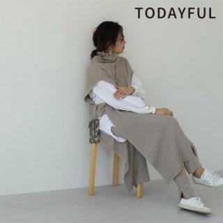 TODAYFUL - トゥデイフル  タートルニットベスト