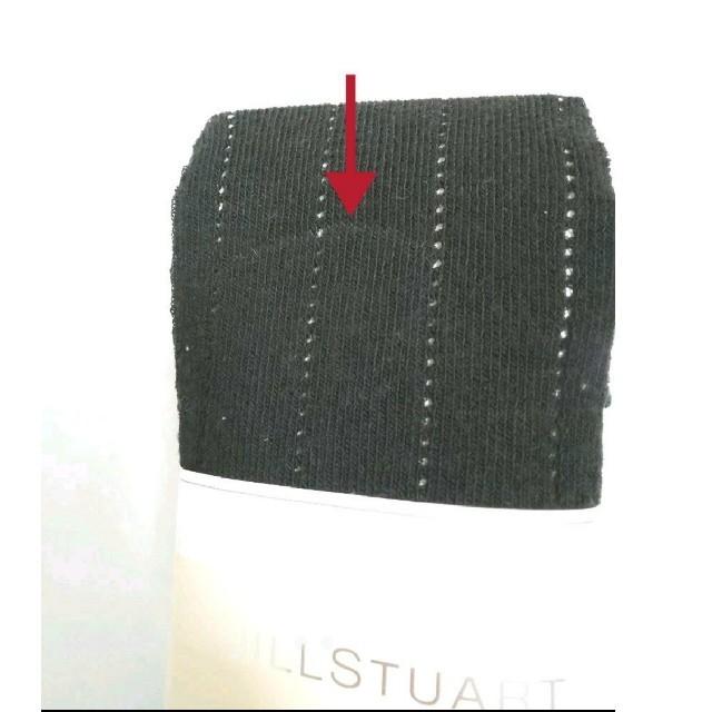 JILLSTUART(ジルスチュアート)のジルスチュアート 黒 タイツ レディースのレッグウェア(タイツ/ストッキング)の商品写真