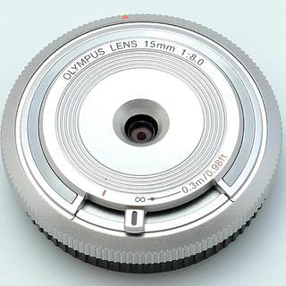 オリンパス(OLYMPUS)のオリンパス15mmf8シルバー(レンズ(単焦点))