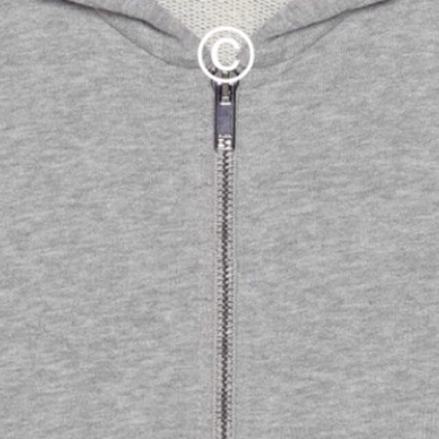 Gucci(グッチ)の新品未試着 大人サイズ GUCCI ロゴ スウェット パーカー レディースのトップス(パーカー)の商品写真