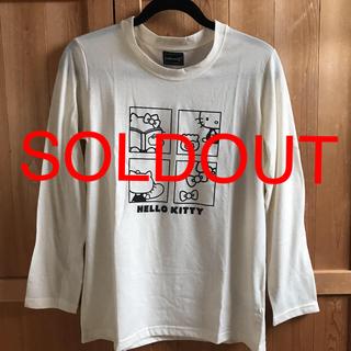 ハローキティ(ハローキティ)の[新品・未使用]ハローキティ 長袖Tシャツ ロンT(Tシャツ(長袖/七分))