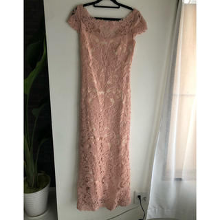タダシショウジ(TADASHI SHOJI)のタダシジョージ TADASHI SHOJI ドレス ピンク(ロングドレス)