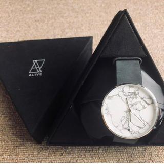 アライブアスレティックス(Alive Athletics)のALIVE 大理石 時計(腕時計)