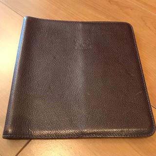 イルビゾンテ(IL BISONTE)のQuo Vadis専用手帳カバー(手帳)