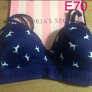 ヴィクトリアズシークレット(Victoria's Secret)の13.新品 E70 ヴィクシー  ピンク スポーツブラ(ブラ)