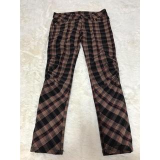 ダブルスタンダードクロージング(DOUBLE STANDARD CLOTHING)のダブスタ  チェックパンツ(カジュアルパンツ)