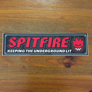 ヴァンズ(VANS)のSPITFIRE ステッカー(スケートボード)