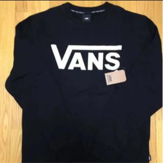 ヴァンズ(VANS)のSALE❗️Mサイズ 新品 バンズ スウェット裏起毛 クルートレーナー(スウェット)