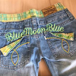 ブルームーンブルー(BLUE MOON BLUE)のBLUE MOON BLUE ジーンズ 28(デニム/ジーンズ)
