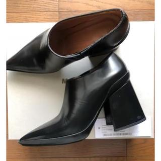 マルニ(Marni)のマルニ ショートブーツ  黒(ブーツ)