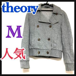 セオリー(theory)のセオリー theory ジャケット ダブルボタン ショート 2 グレー(その他)