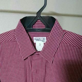 アニエスベー(agnes b.)のアニエスベーオム/チェックシャツ(シャツ)