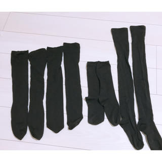 tutuanna - ニーハイ、ロング、ショート 靴下4足