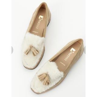 スピックアンドスパン(Spick and Span)のPASCUCCI ムートンローファー Spick&Span(ローファー/革靴)