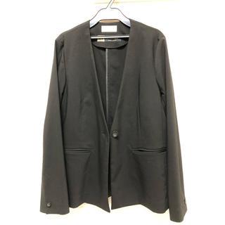 OPAQUE - opaque 襟なし ジャケット