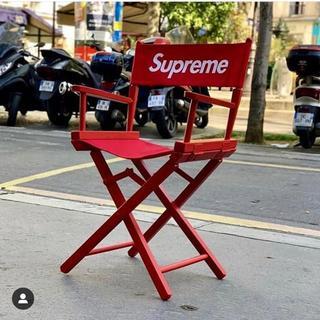 Supreme - Supreme★Director's Chair★RED★購入証明書原本付属★
