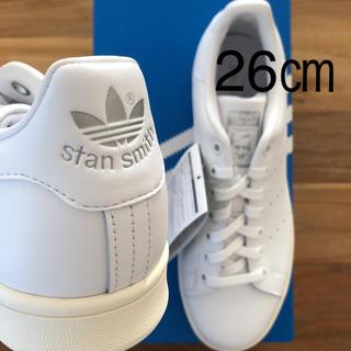 アディダス(adidas)の【レア】 26㎝ adidas アディダス スタンスミス ホワイト シルバー(スニーカー)