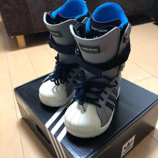 アディダス(adidas)のADIDAS 17-18 SUPERSTAR  BOOTS 25.0(ブーツ)