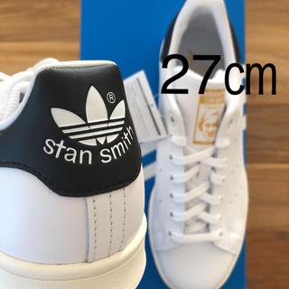 アディダス(adidas)の【レア】27㎝ アディダス スタンスミス ホワイト ブラック ゴールド(スニーカー)