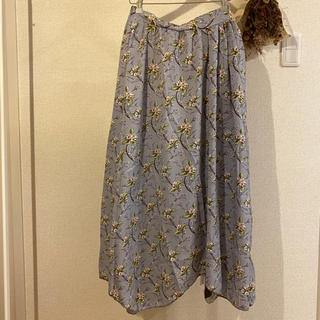 メルロー(merlot)のmerlot スカート(ロングスカート)
