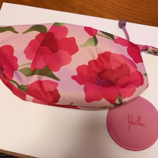 Sybilla - 新品未使用 シビラ 花柄 ポーチ