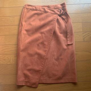 フリーズマート(FREE'S MART)のベルト付き巻きスカート(ひざ丈スカート)